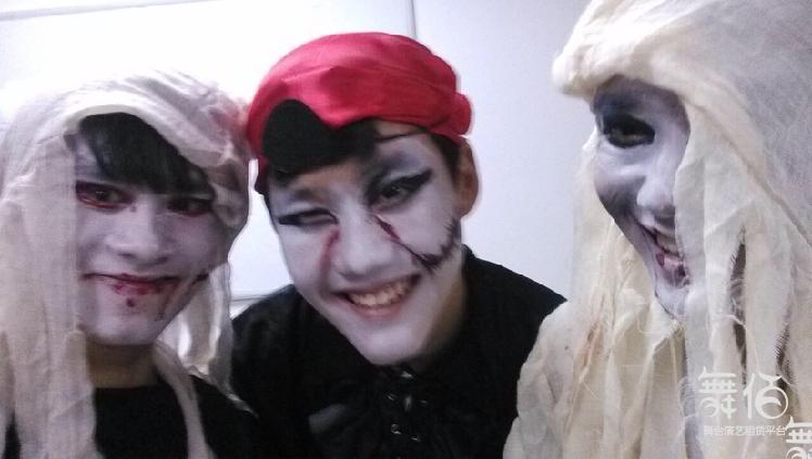 小丑,镜片人,cosplay