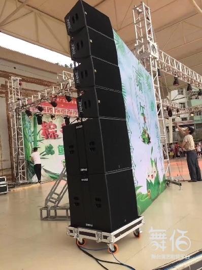 内蒙古包头线阵音响租赁